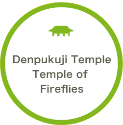Denpukuji TempleTemple of Fireflies